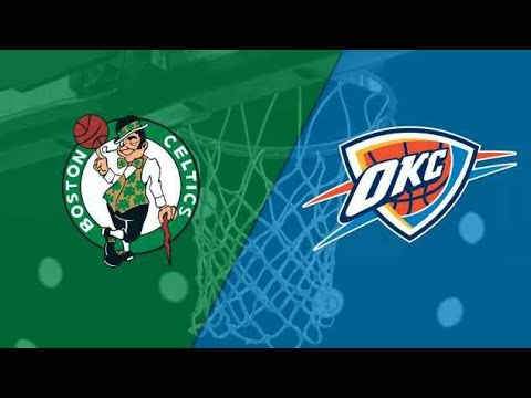 NBA Live 18 Boston Celtics Vs Oklahoma City Thunder Full Game