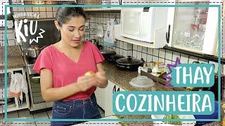 Thaynara se vira e prepara almoço para a Família OG | #13 | Minha Vida é KIU | Thaynara OG