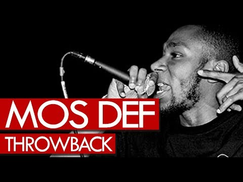 Mos Def freestyle on A Milli! Never heard before throwback