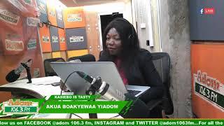 MIDDAY NEWS KASIEBO IS TASTY on Adom FM (19-2-19)