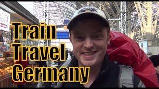Taking the train in Germany from Frankfurt to Berlin