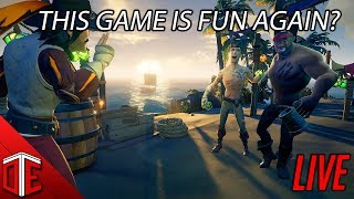 ARRRH WE BE BACK! - SEA OF THIEVES LIVE STREAM