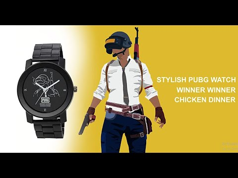 PUBG Black Dial Analog Watch - Under 300 🔥🔥🔥 II 1st Watch Of Affordable Week(Cheapest Watches)