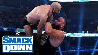 Braun Strowman vs. Cesaro: SmackDown, Jan. 3, 2020