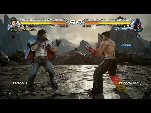 TEKKEN 7 - Jin Kazama Online Ranked Matches #3 - Tekken 3 Costume! (1080p 60fps) PS4 Pro