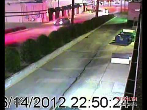 Stolen Safe and Police Chase at Shopping Center - Security