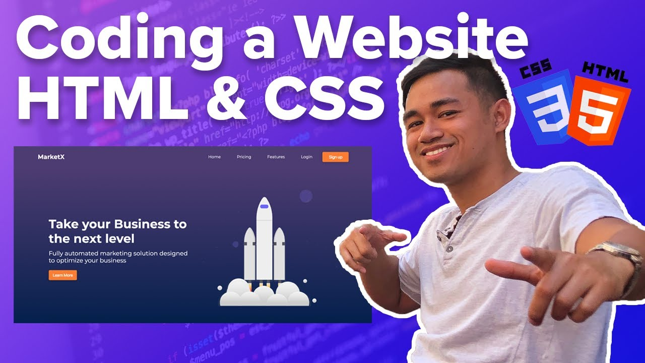 Learn How to Code a Website with HTML & CSS for Beginners - Coding Journey Part 2