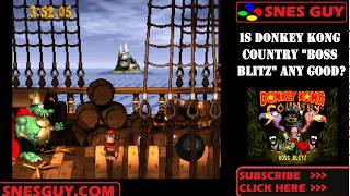 Download Donkey Kong Country Boss Blitz Snes Review Repro