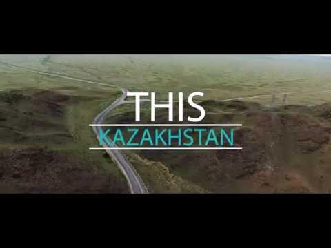 Kazakhstan. Charyn Canyon. Lake Kaindy