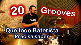 20 Grooves que Todo baterista deveria conhecer!