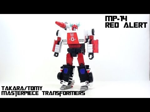 Video Review of the Takara MP-14; Masterpiece Alert (aka Red Alert)