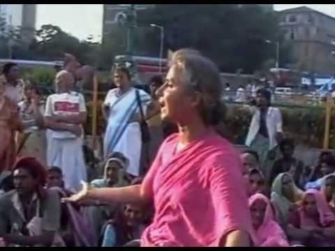 An emotional Medha Patkar - Truly inspirational