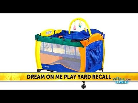 RECALL: Dream On Me play yards