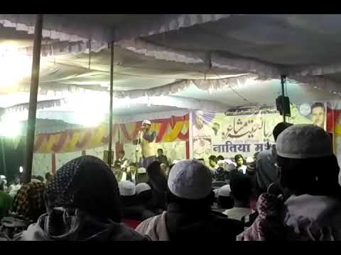 Tabish Rehan Naat in All India natia Mushaira karahi sant kabeer nagar