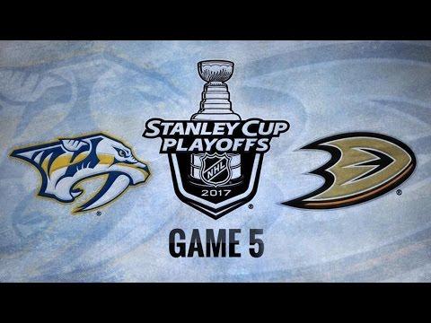 Nashville Predators Vs Anaheim Ducks Game 5   NHL Game Recap   May 20, 2017   HD
