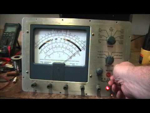 FNR: RCA Master Voltohmyst WV-87B