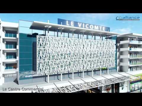 Le centre commercial : Le Vicomte à Sousse