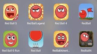 Red Ball 5,Red Ball Legend,Red Ball 4,Red Ball,Red Ball 6 Run,Red Ball Classic,Red Ball Adventure