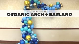Organic Arch and Garland
