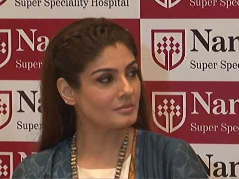 Raveena Tandon Join Cause Organ Donation Brand Ambassdor At Nanavati Hospital Mumbai