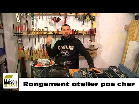 faire un rangement atelier pas cher youtube. Black Bedroom Furniture Sets. Home Design Ideas