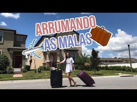 Arrumando as Malas da Viagem pra Orlando
