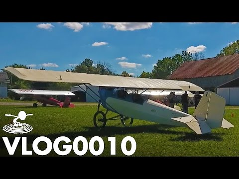 FULL SCALE FRIDAYS!! PIETENPOL AIR CAMPER | VLOG0010