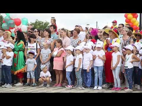 Открытие сквера Семьи, Любви и Верности в Солигорске