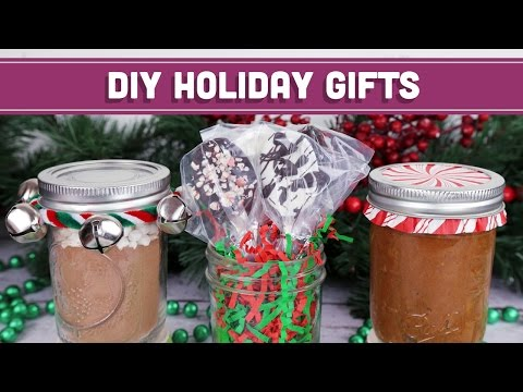 Healthy DIY Edible Christmas Gifts! Easy Holiday Recipes! Mind Over Munch