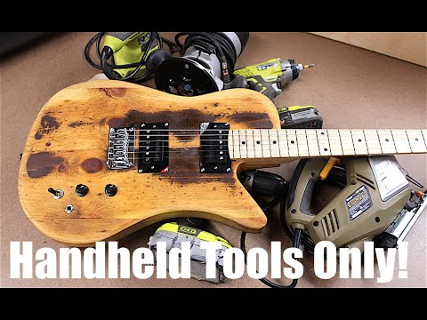 Make a Guitar With Very Basic Tools - DIY Kits Available!