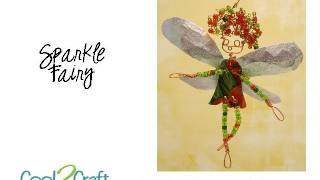 How to Make a Soda Can Sparkle Fairy by Candace Jedrowicz