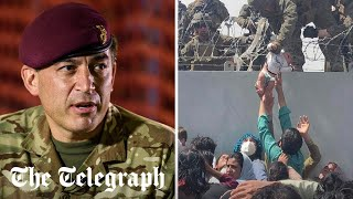 video: British soldiers 'can't unsee' Kabul's horrors and need help to recover, says mission leader