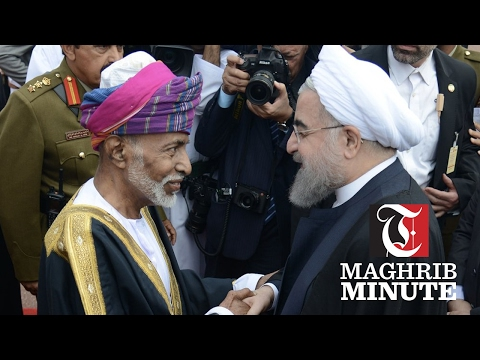 His Majesty Sultan Qaboos welcomes Iranian president
