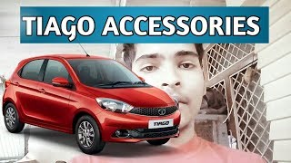Tata Tiago XZ , XT ALL MODEL ACCESSORIES Seat cover , door visor  etc