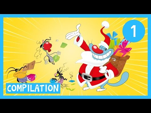 Oggy and the Cockroaches - Full Episodes in HD Compilation 1 hour _ Christmas