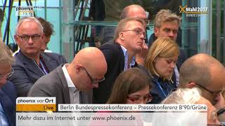 Bundestagswahl 2017: Pressekonferenz B
