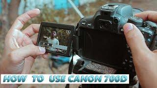 Canon 700D Video Settings Hindi
