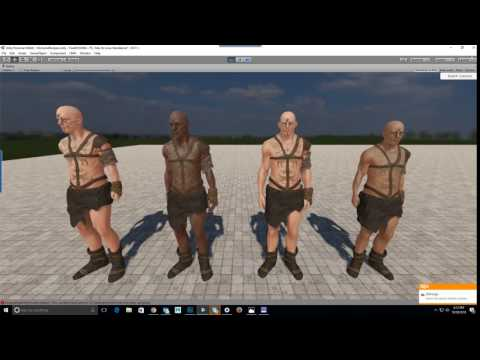 Free character creation in Unity - Unity Forum