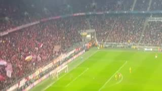 bayern munich vs arsenal 5 1 15 2 2017 thiago goal from crowd