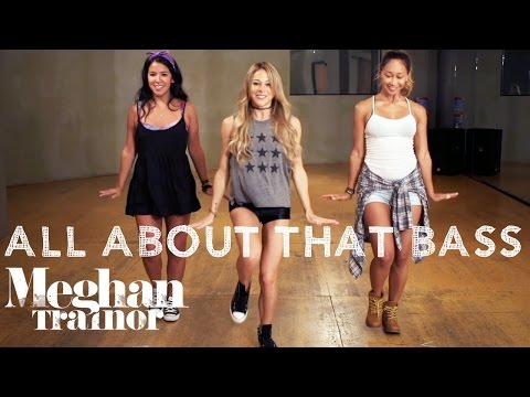 Meghan Trainor - All About That Bass (Dance Tutorial) | Mandy Jiroux