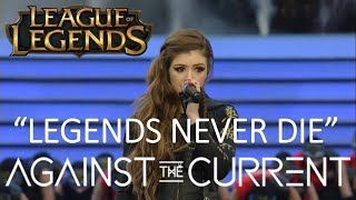 Against The Current - Legends Never Die (Live at League of Legends Worlds 2017 Finals)