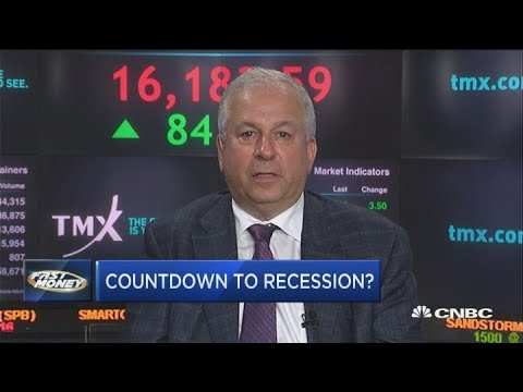 Wall St. bear David Rosenberg warns of a 100% chance of recession, based on yield curve inversion