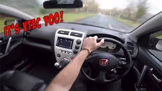 When VTEC Kicks In Too Hard!! (PART 2)