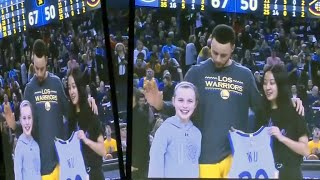 Warriors Star Steph Curry Delivers on 9-Year-Old Napa Girl's Challenge