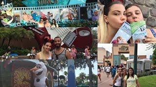 Vlog Orlando (11) - Hollywood Studios + Frozen Summer Fun + Fantasmic!