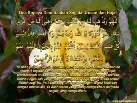 Doa Dipermudahkan Segala Urusan Dan Hajat