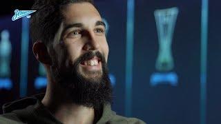 Миха Мевля на «Зенит-ТВ»: «Я не обсуждаю свою бороду!»