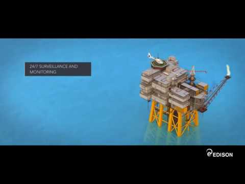 How Vega oil offshore platform works