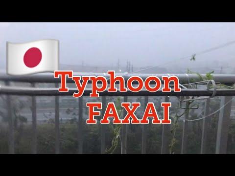 STRONGEST TYPHOON IN JAPAN | TYPHOON FAXAI