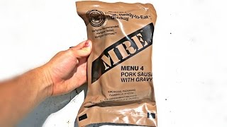 Download Testing US Military MRE (Meal Ready to Eat) Mp3 and Videos